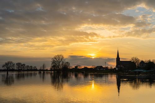 Maas sunset 1