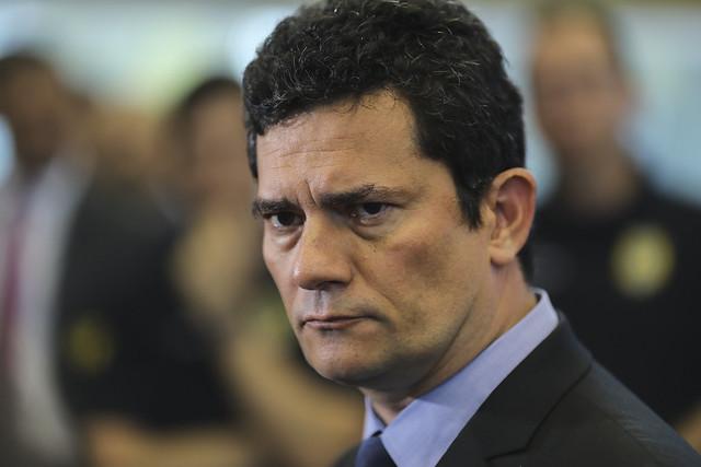 O ex-juiz e atual ministro da Justiça, Sérgio Moro - Créditos: Sergio Lima/AFP