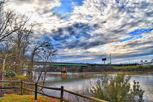Black Warrior River at Tuscaloosa (AL) February 2019