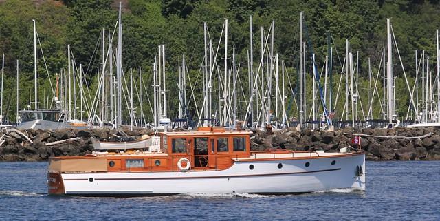 IMG_9479 C1 - off Elliott Bay Marina, Seattle WA - 1929 Stephens Brothers motor yacht COMPADRE