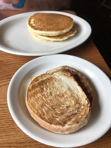 Pancakes, Sour Dough Toast with apple butter