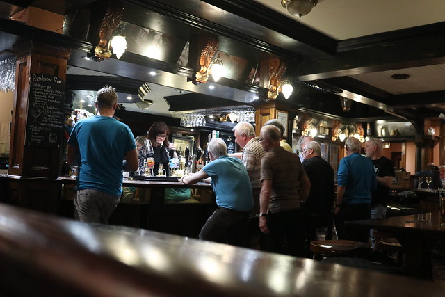 Quiz Night at the Red Lion, Stockport