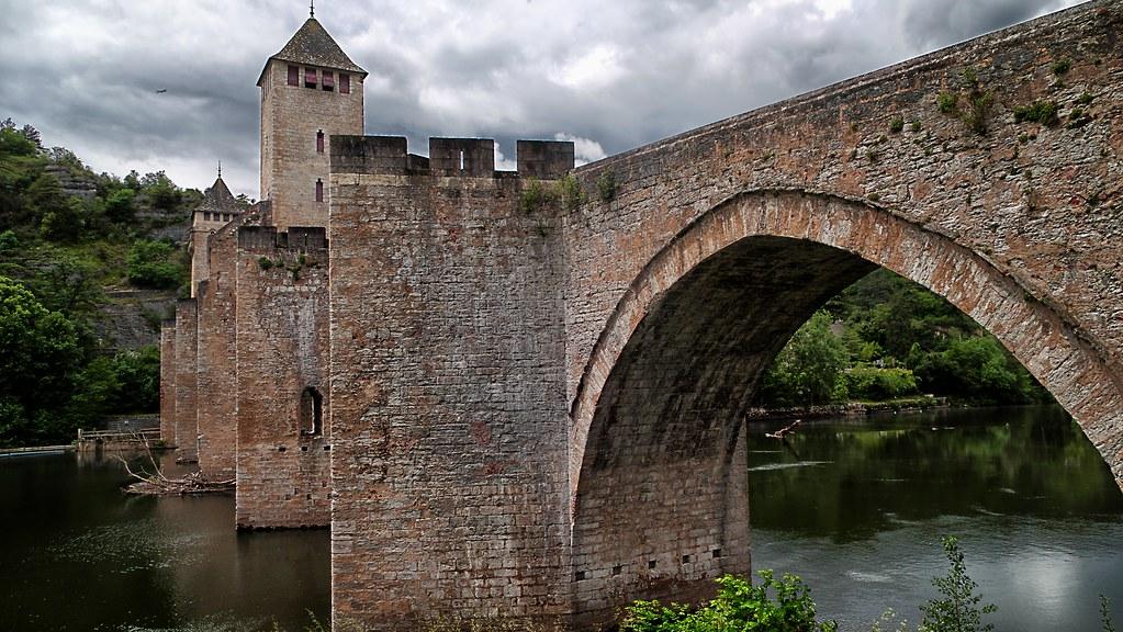 CAHORS - Carte plan hotel ville de Cahors 46000 ou 46090 - Cartes France.fr