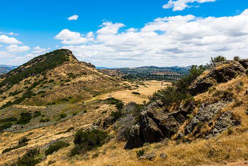 Mountclef Ridge from Lizard Rock