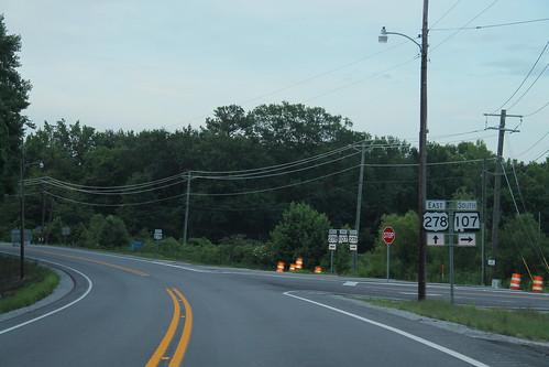 US278 East - AL107 South Signs