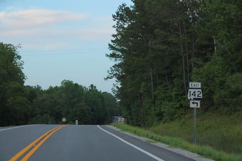 US278 East - AL142 East Sign