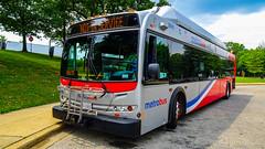 WMATA Metrobus 2007 New Flyer C40LFR #2818