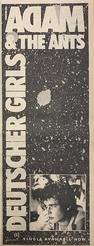 NME, 13 February 1982. #NME  #MyLifeInTheUKMusicPress #1982