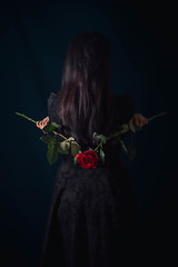 Mélusine petite robe noire 5 - Photo of Villars