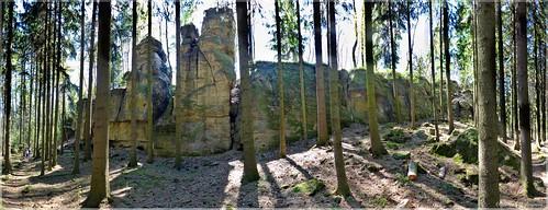 Felsengebiet Raabsteine