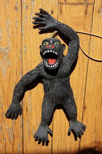 Vintage Gorilla Rubber Jiggler