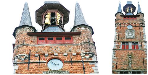 Beffroi, Kortrijk (Courtrai) Flandre Occidentale, Belgium