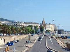 France, la Corse, la ville de Bastia près du port