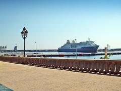France, la Corse, le Port de Bastia