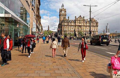 Edinburgh / Princes St. / Balmoral Hotel