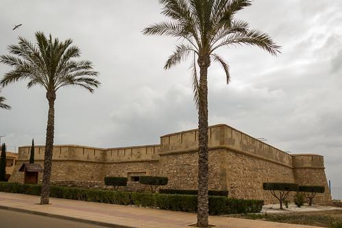 Spain - Almeria - Garrucha - Castle