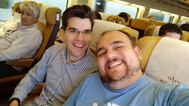 Nuestros COO y CTO de camino al EUCNC19