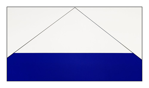 Black and Blue triangle