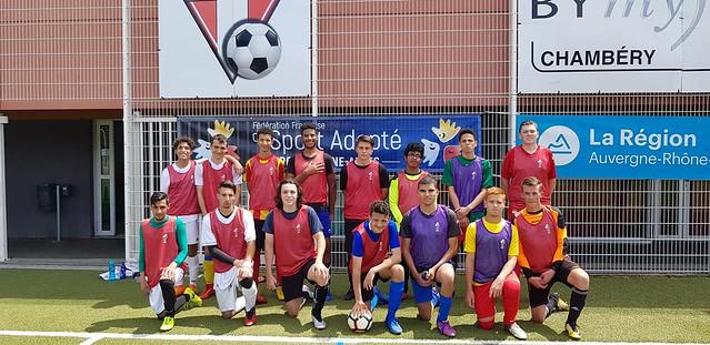 Stage 3 - sélection régionale Foot à 11 - Aix-les-Bains (73) - 15 et 16 juin 2019