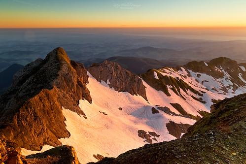Sunrise at Swiss Alps