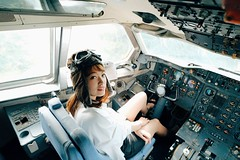 Joanna飛機