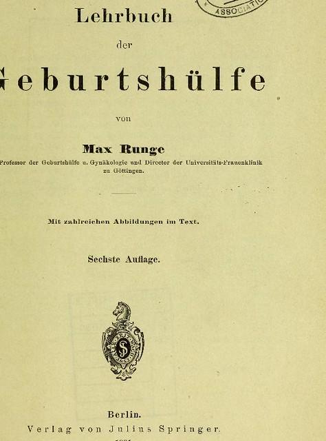 This image is taken from Lehrbuch der Geburtshülfe