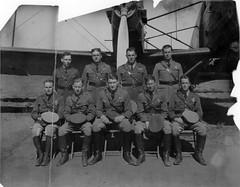 10_0027334 Personnel: USAF 11th Bomb SQD. 11th Bomb SQD. Group photo