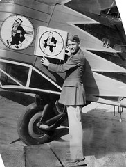 10_0027335 Personnel: USAF 11th Bomb SQD. Aviation Soldier of 11th Bomb SQD. Holding logo