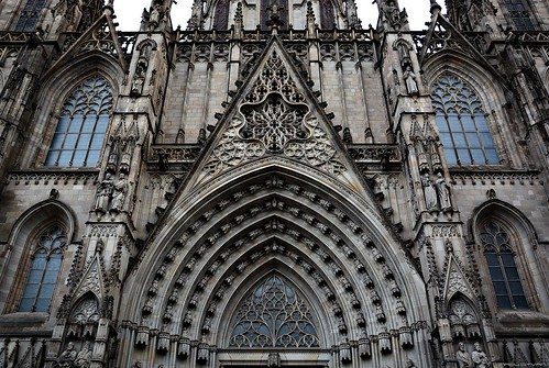 Barcelona - Cathedral of Barcelona #5