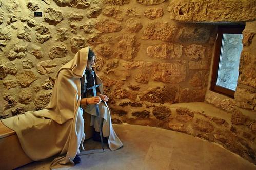 Caballero templario en el castillo (Torija)