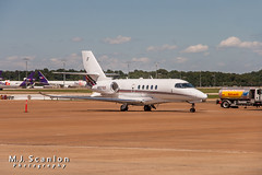 N521QS NetJets Aviation | Cessna 680A Citation Latitude | Memphis International Airport