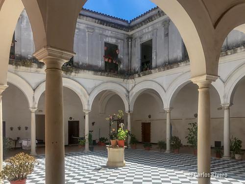 Patio de Sanlucar de Barrameda, Cádiz.