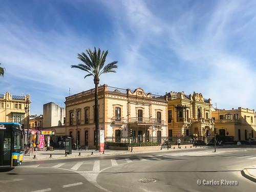 Edificios de Sanlucar de Barrameda, Cádiz.
