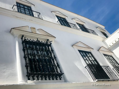 Rejas del palacio de la Duquesa de Medina Sidonia.