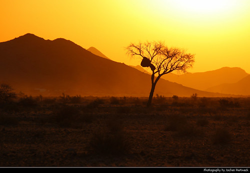Sunset, Near Sesriem, Namibia