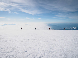 Mt. Baker summit team