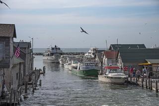 Fishtown, on Lake Michigan along M-22 in Leelanau County, MI, at Leland 06-08-2019 036