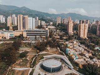 Fotografías aéreas - Bibliotecas y sus alrededores