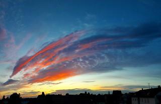 20190619_050759 Heute Morgen 19.6.2019 um 5 Uhr_Fensterblick von meinem Büro_ Münster Hessen