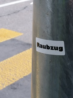 Raubzug #sticker #streetartbasel #urbanart
