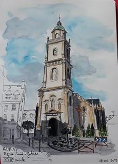 Auray, église saint Gildas