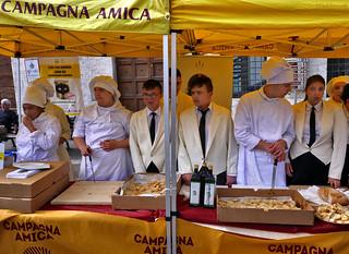 Umbria: Assisi, Campagna Amica pizza tasting