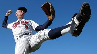 Minnesota Twins Baseball Pitcher