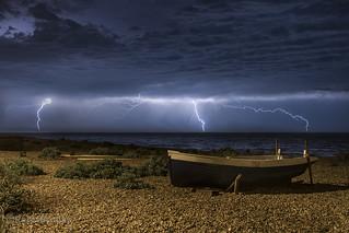 Storm on Eastbourne Beach