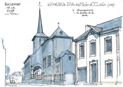 Roclenge, église St-Remy