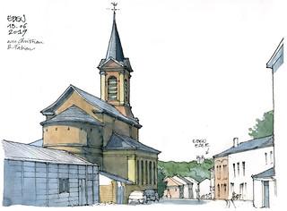 Eben, l'église