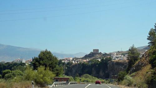 auf der N-323a, Granada_2899