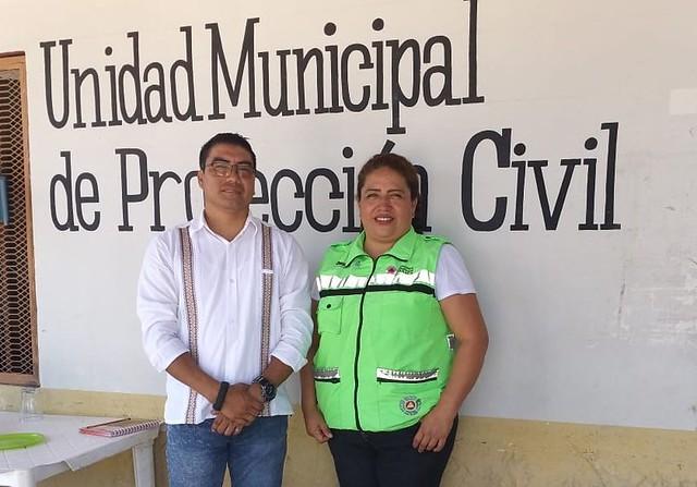 Llevamos a cabo reunión de trabajo con la Coordinación Municipal de #ProtecciónCivil de Juchitán; coordinarnos en los temas de capacitación a centros educativos públicos, Programa Escolar de Proteccion Civil, simulacros y capacitación #Oaxaca