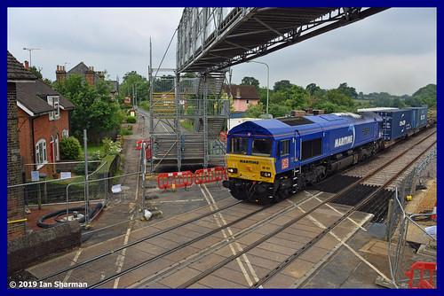 No 66051 Maritime Intermodal Four 19th June 2019 Westerfield
