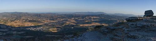Málaga desde el Torcal